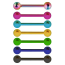 Barbell Color Titan with 2 Balls.