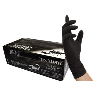 Black Scorpion Latex-Handschuhe