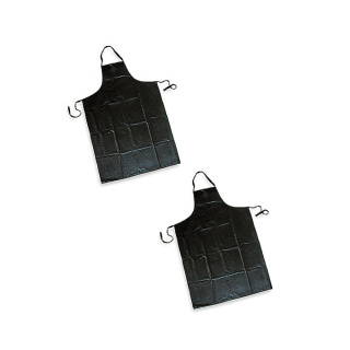 PE Apron, Black 50 pcs.