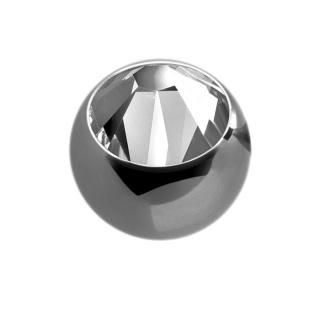 Titanium big jewelled Ball