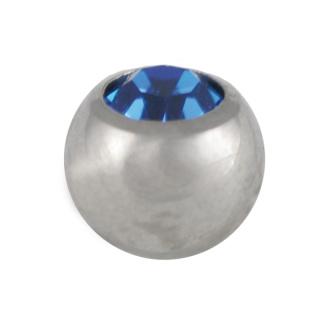 Titanium Jewelled Ball