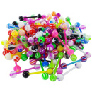 100 UV Barbells Mix 1.6