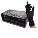 Black Nitrile Gloves,Latex free, super grip