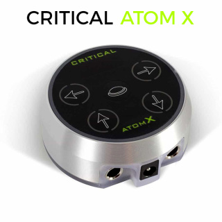 Atom X Power Supply silver