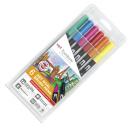 Tombow ABT Dual Brush Pens 6 Stk.
