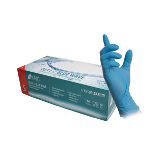 Nitril Handschuhe blue