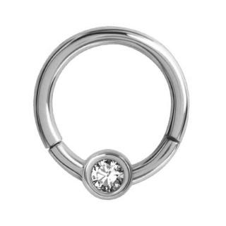 Hinged Crystal Ring