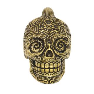 Catherina Skull Ear Weight weight brass