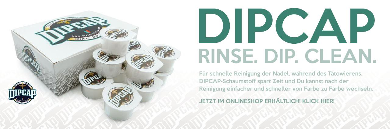 DIPCAP - RINSE. DIP. CLEAN.