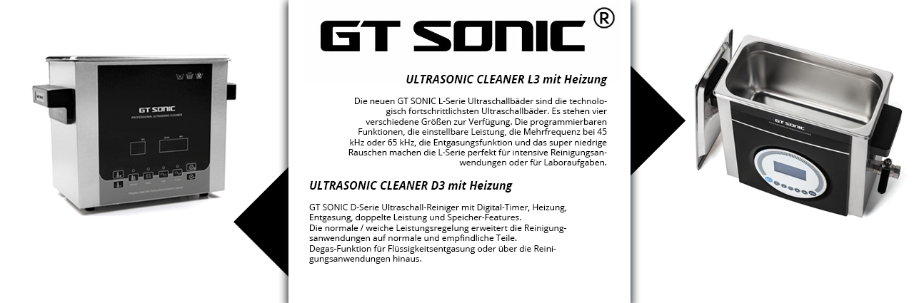GT SONIC - Ultra Cleaner