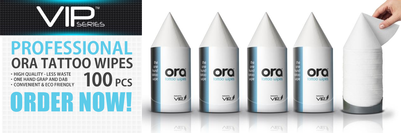 ORA TATTOO WIPES - VIPSeries